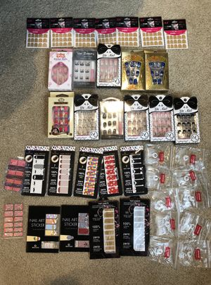 Nail art supply lot for Sale, used for sale  New York, NY