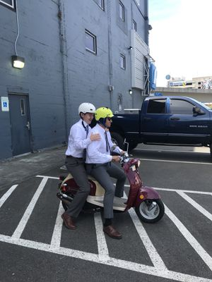 49cc scooter - with cover for Sale in Seattle, WA