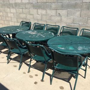Commercial Grade Outdoor Tables and Chairs for Sale in Santa Ana, CA