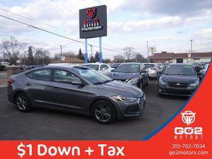 2018 Hyundai Elantra for Sale in Detroit, MI