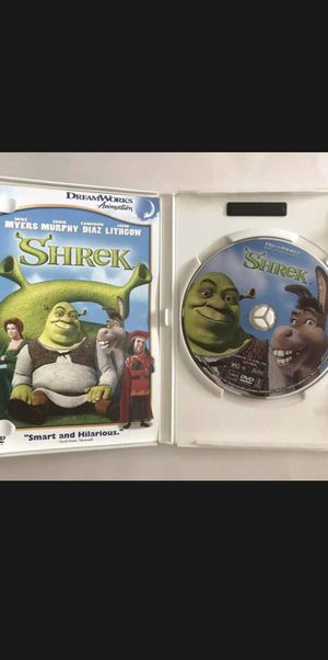 Shrek DVD Movie for Sale in Hazard, CA