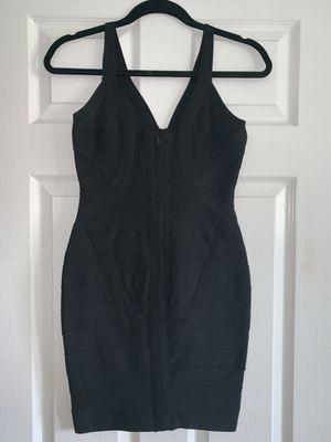 Women's Thick Stretch V-Neck Bandage Bodycon Dress - Small for Sale in Covina, CA