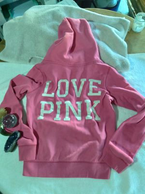Love Pink - Victoria's Secret front zip hoodie for Sale in Henderson, NV