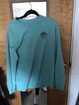 teal patagonia long sleeve for Sale in Chelmsford, MA