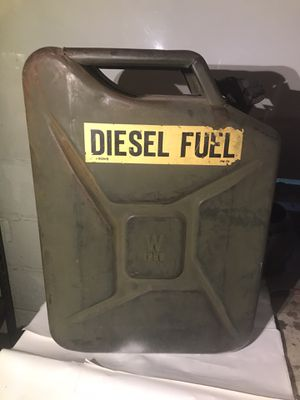 Military 20 L diesel fuel can vintage antique for Sale in Parma, OH