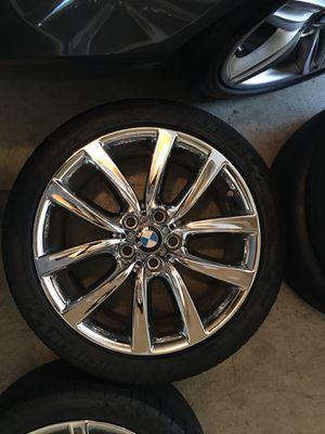 Crome BMW Wheels for Sale in Franconia, VA