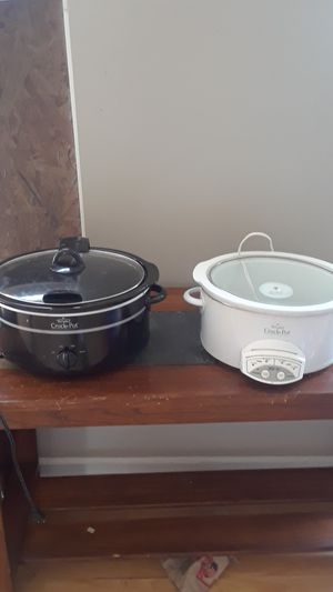 The name brand of the two crock pots are rival crock pot $20 a piece for Sale in York, PA