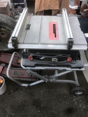 Bosch TS3000 Gravity Rise for Sale in Anchorage, AK