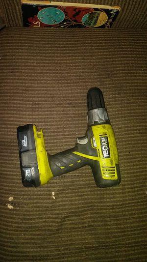 Ryobi drill 18v for Sale in Universal City, TX