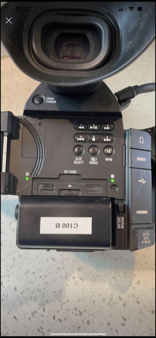 Canon C100 Mark 2