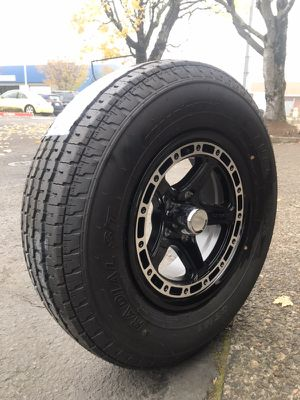 For new trailer wheels and tires for Sale in Gresham, OR