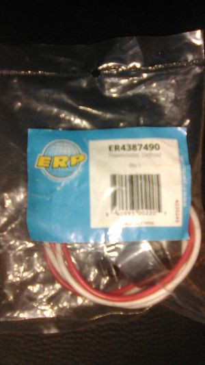 Thermostat Defrost for refrigerator ER4387490 for Sale in Louisville, KY