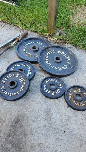 WEIGHT SET/TOTAL TRAINER DLX-3 for Sale in Houston, TX