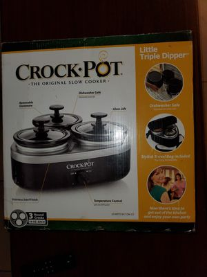 Little Triple Dipper Crock Pot for Sale in Tolleson, AZ