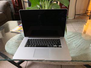 MacBook Pro, screen 15 inch 2012 for Sale in Miramar, FL
