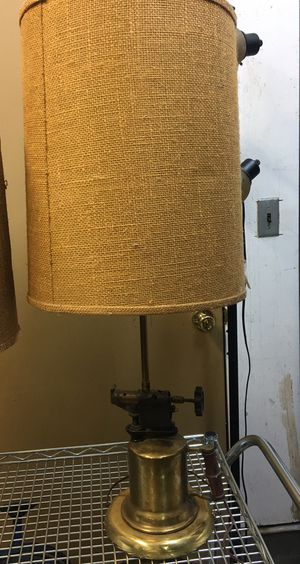 Vintage Brass blow torch lamp for Sale in Ridgefield, WA