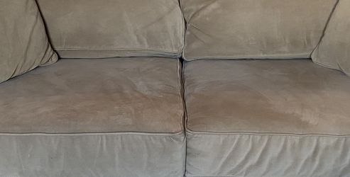 Tan Suede Couch for Sale in Boise,  ID