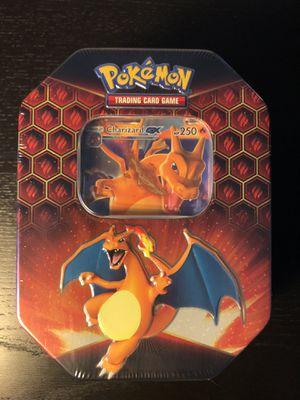 CHARIZARD Pokemon Trading Card Game: Hidden Fates Tin for Sale in Tamarac, FL