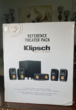 Klipsch reference theatre pack 5.1 channel speakers for Sale in Norwalk, CA