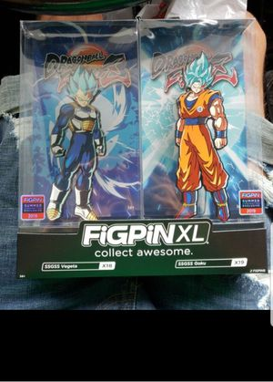 Dragon ball z sdcc figpin xl game stop exclusive for Sale in Bridgeport, CT