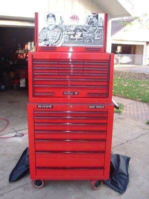 MAC TOOLS - Dale Earnhardt - SR - Tool Box - Sam Bass - Richard Childress Racing - RCR - NASCAR for Sale in Mount Laurel Township, NJ
