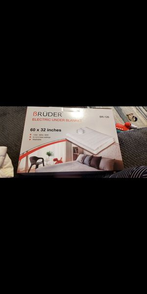Bruder Electric blanket brand new and sealed for Sale in Peabody, MA