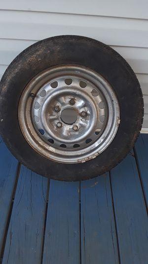 Trailer rim tire for Sale in Spartanburg, SC