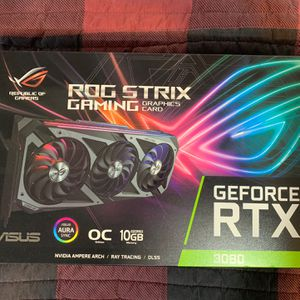 Asus ROG Strix 3080 for Sale in Norco, CA