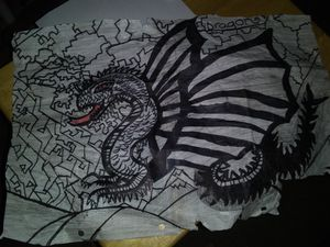 Dragon drawing for Sale in Missoula, MT