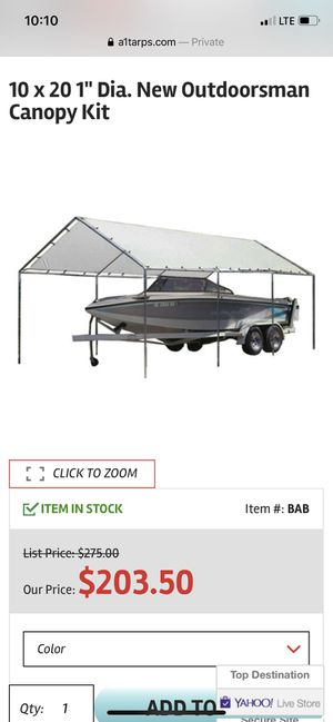 10x20 canopy for Sale in Paramount, CA