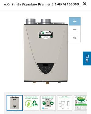 New in Box A O SMITH Tankless Water Heater 160K BTU for Sale in Ypsilanti, MI