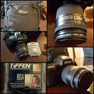 Nikon Film Camera Bundle for Sale in Lakewood, CO