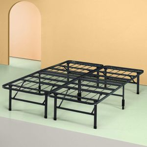 Foldable Queen-size bed frame (og. Price: $95) for Sale in Queens, NY