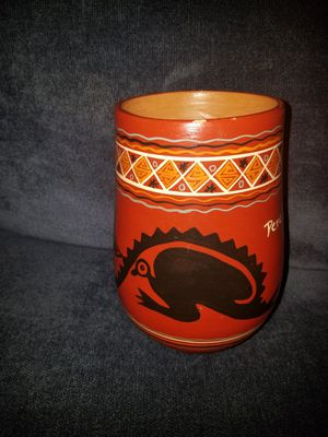 Peruvian Pottery Vase for Sale in Damascus, MD