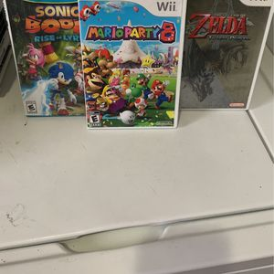 Nintendo Wii Mario Zelda Sonic Lot for Sale in The Bronx, NY