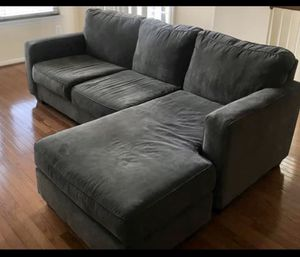 Gray couch for Sale in Stafford, VA