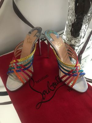 Christian Louboutin Marthastrass Sz 38.5 for Sale in Silver Spring, MD