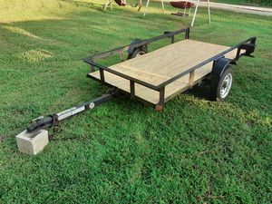 Tilt trailer 4x8 ft ( FIRM PRICE) for Sale in Durham, NC