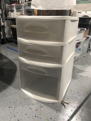 Plastic Sterilite drawers for Sale in Azusa, CA