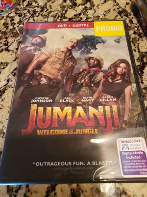Brand new Jumanji Welcome To The Jungle Movie for Sale in Overland Park, KS