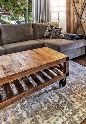 Property Brothers Brand Rustic Coffee Table for Sale in Everett, WA