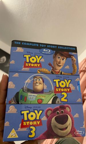 Toy Story 1,2 & 3 for Sale in Port Arthur, TX