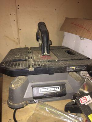 Rockwell saw for Sale in DeWitt, IA