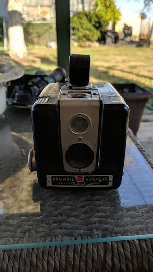 Brownie Hawkeye Camera: Flash Model for Sale in Escalon, CA