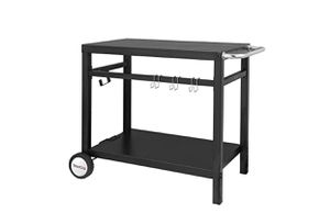 Royal Gourmet Double Shelf Movable Dining Cart Table for Sale in North Las Vegas, NV