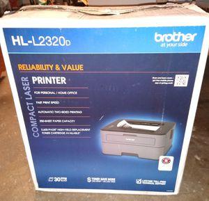 Brother HL-L2320D monochrome printer for Sale in Tacoma, WA