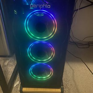 Gaming Pc With RX 580 And Keyboard for Sale in Milford Charter Township, MI