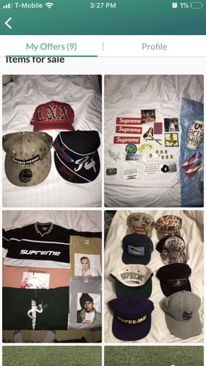 Supreme stickers/fitted/SnapBack/camp/accessories/tshirts for Sale in Goodyear, AZ