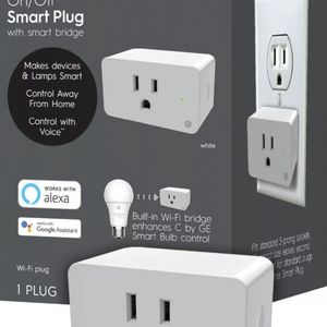 C by GE Smart Plug with Smart Bridge, White, On/Off Smart Plugs that work with for Sale in Tucker, GA