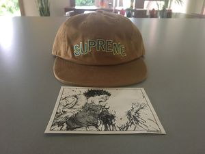 Supreme Hat and Akira Sticker (OPEN TO TRADES) for Sale in Bellevue, WA